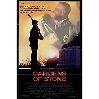 Gardens of Stone Movie Poster (11 x 17)