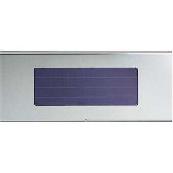 Solar outdoor wall light Cold white Esotec 102256 Profi 1 Stainless steel