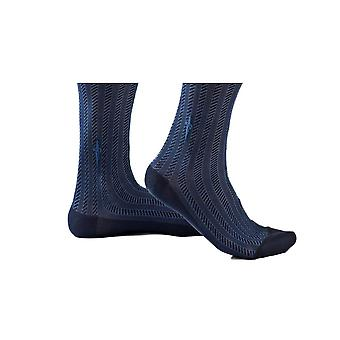 Blue socks Spinato of Cesare Paciotti
