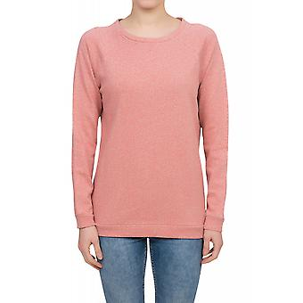 Lee Slim Crew SWS Pullover Damen Rundhals Sweat-Shirt Rosa