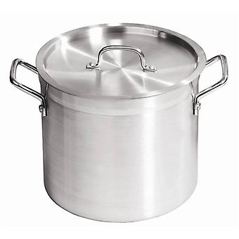 30 Ltr Aluminium Stockpot with Lid
