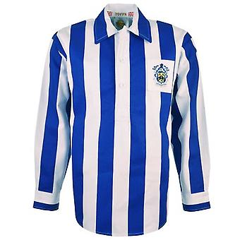 Huddersfield Town 1950s Retro Football Shirt