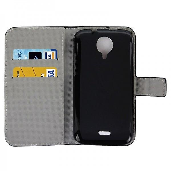 Pocket wallet premium model 73 for WIKO Furthermore Knight