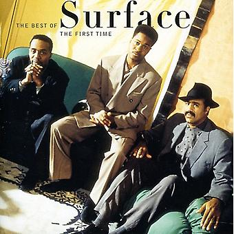 Surface - First Time: Best of Surface [CD] USA import