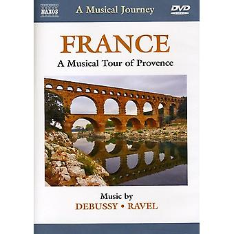 Debussy/Ravel - France: Musical Tour of Provence [DVD] USA import