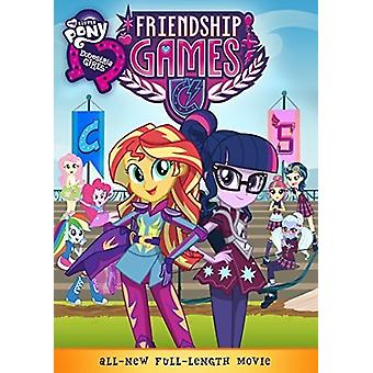 My Little Pony Equestria Girls Friendship Games [DVD] USA import