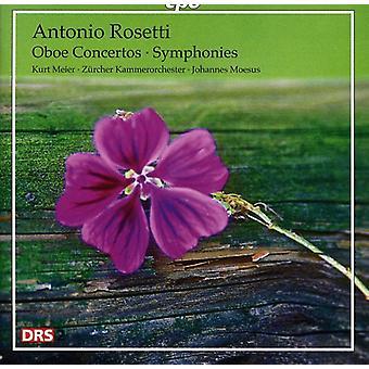 A. Rosetti - Rosetti: Obo koncerter; Symfonier [CD] USA importerer