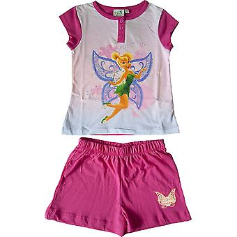 Disney Fairies Tinkerbell Girls Short Pyjamas Set in the Box