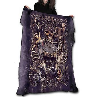 LABRYNTH Fleece Blanket / Throw / Tapestry