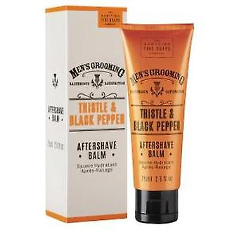 Scottish Fine Soaps Thistle & pepe nero After Shave Balm 75ml