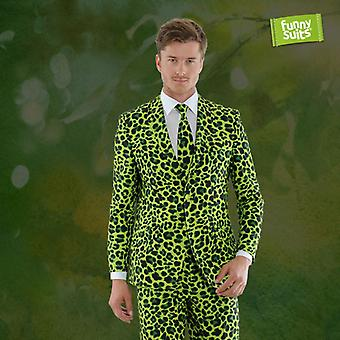 Jaggreen green Jaguar suit Mister Green 3-piece costume deluxe EU SIZES