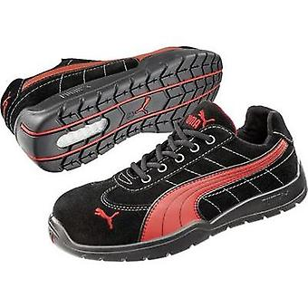 Safety shoes S1P Size: 45 Black, Red PUMA Safety SILVERSTONE LOW HRO SRC 642630 1 pair