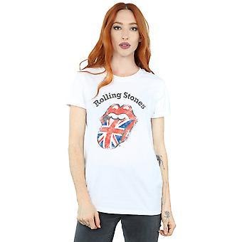 Rolling Stones kvinders UK tungen kæreste Fit T-Shirt