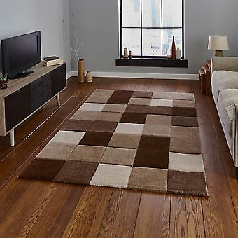 Brooklyn Teppiche 646 In Beige und braun