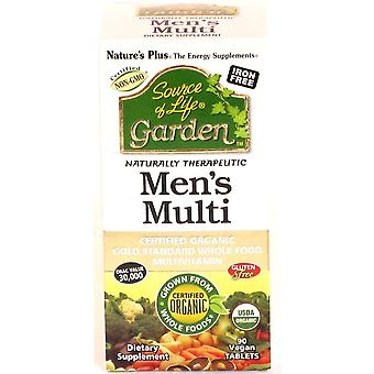 Natures Plus  Source Of Life Garden Mens Once Daily (30 Vegan Tablets)