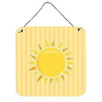 Sunshine Sun on Stripes Wall or Door Hanging Prints