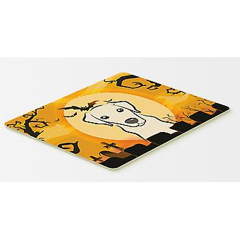 Halloween Yellow Labrador Kitchen or Bath Mat 20x30