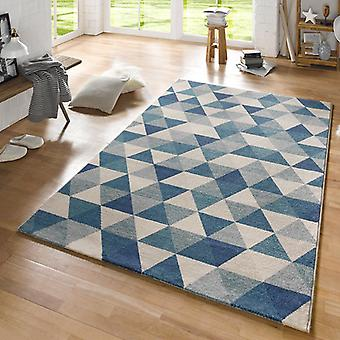 Design carpet Prism blue cream | 102434
