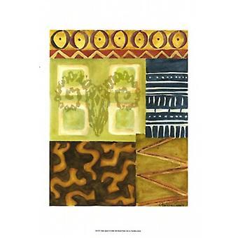 Tribal Spirit I Poster Print by Chariklia Zarris (11 x 14)