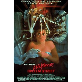 Nightmare on Elm St Poster Poster Print