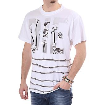 Diesel Xenia Ss Tee With Floral Print