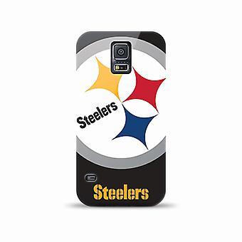 Mizco Sports NFL Oversized Snapback TPU Case for Samsung Galaxy S5 (Pittsburgh S