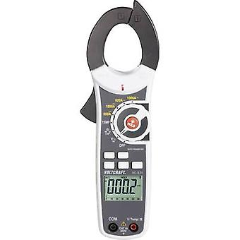 Clamp meter Digital VOLTCRAFT VC-530 Calibrated to: Manufacturer's standards (no certificate) CAT III 600 V Display (co