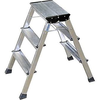 Aluminium Step stool foldable Operating height (max.): 2.65 m Krause