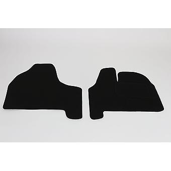 Fully Tailored Car Floor Mats - Citroen DISPATCH van 2007-2018 Black