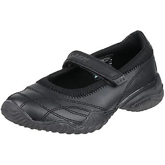 Skechers Girls Velocity Pouty Touch Fasten Leather Casual Shoes