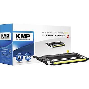KMP Toner cartridge replaced Samsung CLT-Y406S Compatible