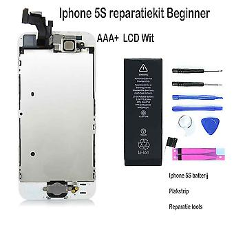 IPhone 5S LCD repair and upgrade kit-for the beginner-White