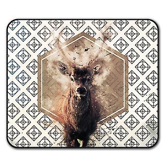 Wellcoda Deer  Non-Slip Mouse Mat Pad 24cm x 20cm | Wellcoda