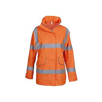 Yoko Womens/Ladies Hi-Vis Executive Jacket