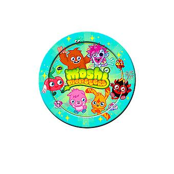 Moshi monstre Party papir plader 23cm