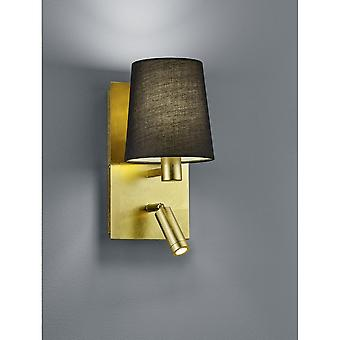 Trio Lighting Marriot Modern Gold Metal Wall Lamp