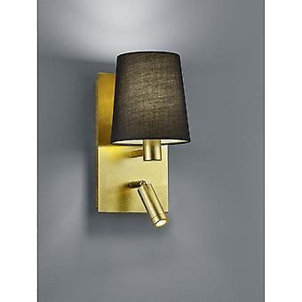 Trio Lighting Marriot Modern Gold Metal Wall Lamp
