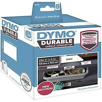 DYMO 1976411 Label roll 54 x 25 mm PE film White 160 pc(s) Permanent All-purpose labels, Address labels
