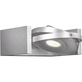 LED wall light 6 W EEC: LED (A++ - E) Warm white Philips Lighting Ledino 53150/48/16 Silver