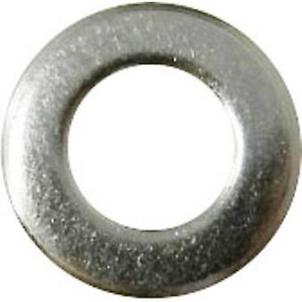 TOOLCRAFT A2,5 D125-A2 194691 Washers Inside diameter: 2.2 mm M2 Stainless steel A2 100 pc(s)