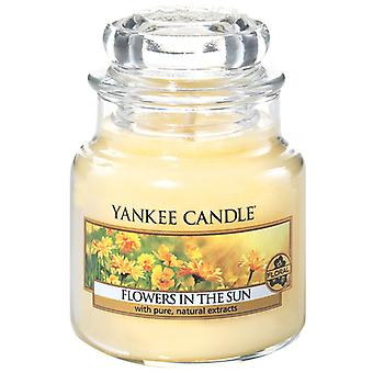 Yankee Candle Jar Classic Small Flowers In The Sun Candle 104 g
