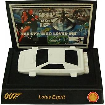 Shell James Bond 007 Collectible 1:64th Scale Car From Shell Lotus Esprit