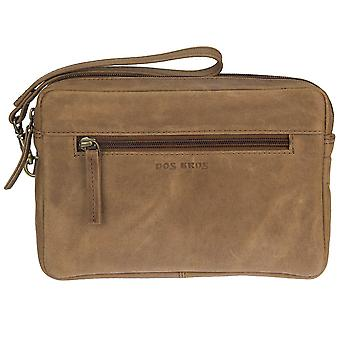 DOS Bros Hunter leather handbag jointed man's Pocket DB-011