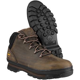 Timberland męskie Splitrock PRO sznurowane skórzane buty bezpieczeństwa pracy