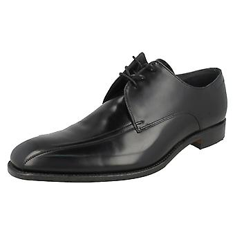 Mens Loake Oxford Polished Leather Formal Shoes McQueen