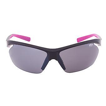 Fila Sport FAC5024 001 Wrap Sonnenbrillen | Rahmen schwarz | graue Linse
