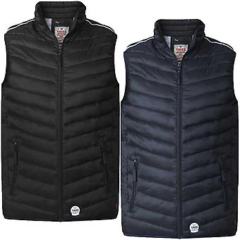 Duke D555 Mens Stevie King Size Big Tall Casual Padded Zipped Gilet Body Warmer