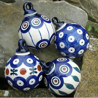 4 balls to hang, Ø 5 cm - BSN J-1916