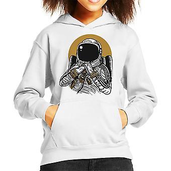 Space DJ Kid's Hooded Sweatshirt