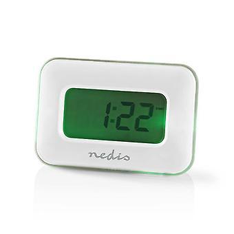 Multifunctional Digital Alarm Clock-White